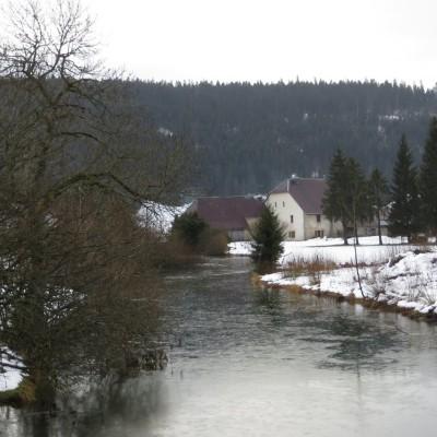 1-Winterwanderung durch die Französische Jura auf Schneeschuhen (6)