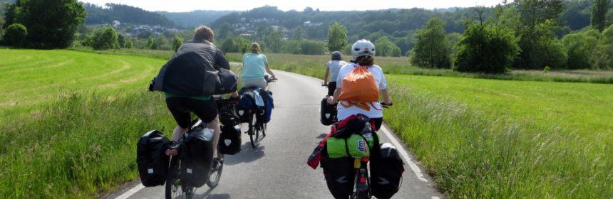 Radtour bei Melsungen
