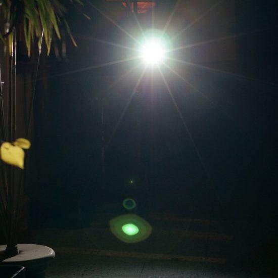Die richtige Fahrradlampe, Blendwirkung
