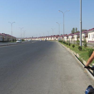 Reihenhäuser in Usbekistan