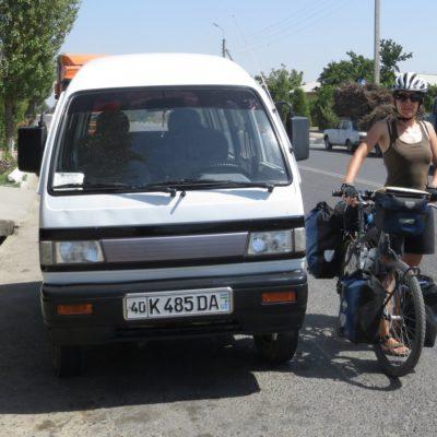 Marshrutkas in Usbekistan
