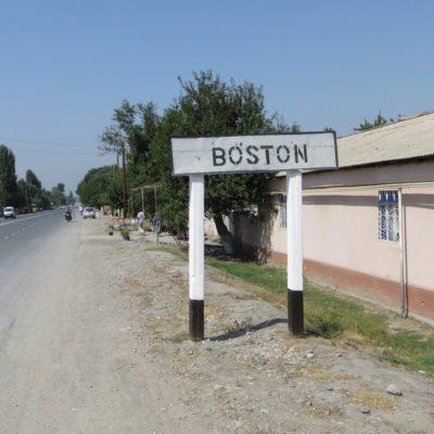 Boston in Usbekistan