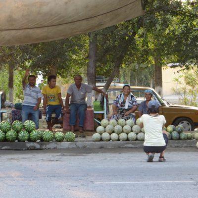 Melonen in Usbekistan