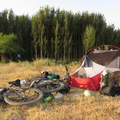 Zelten in Usbekistan