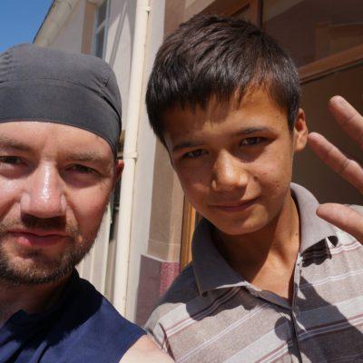 Usbekischer Junge